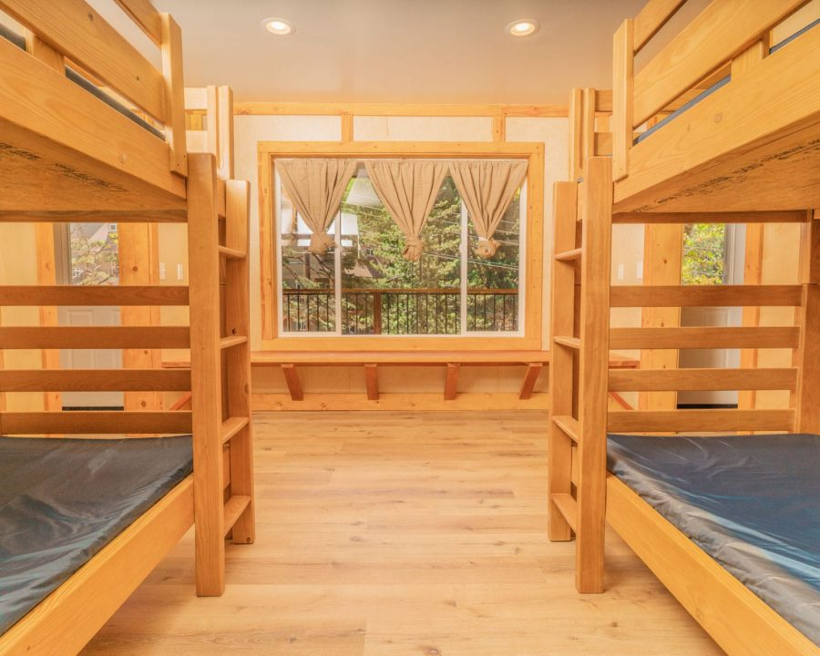 Jump Street bunks interior of beds